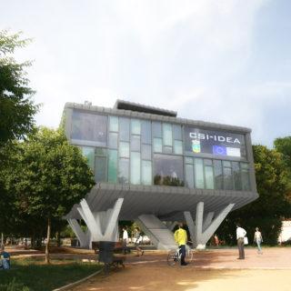 Centro de Servicios Integrados para el Impulso y Desarrollo Estrategico Aeroportuario (CSI-IDEA). Edificio Inteligente.