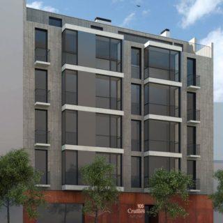 Edificio residencial 16 viviendas, sótanos y local comercial