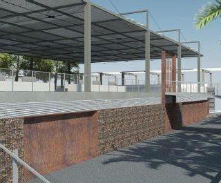 Centre de Neteja del Parc Joan Miro
