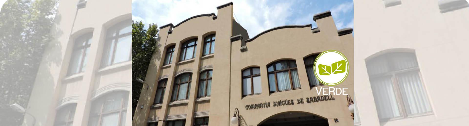 Nuevo edificio certificado VERDE