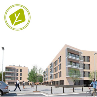Dos edificios de 46 viviendas, aparcamientos y trasteros en la parcela H6 del sector «La Vinyota» de Mollet del Vallès
