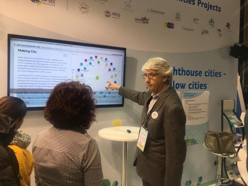 Presentación de Emilio Miguel Mitre (GBCe), líder del paquete de trabajo de colaboración de Making City