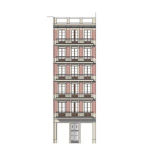 Rehabilitación edificio patrimonial calle Rosselló
