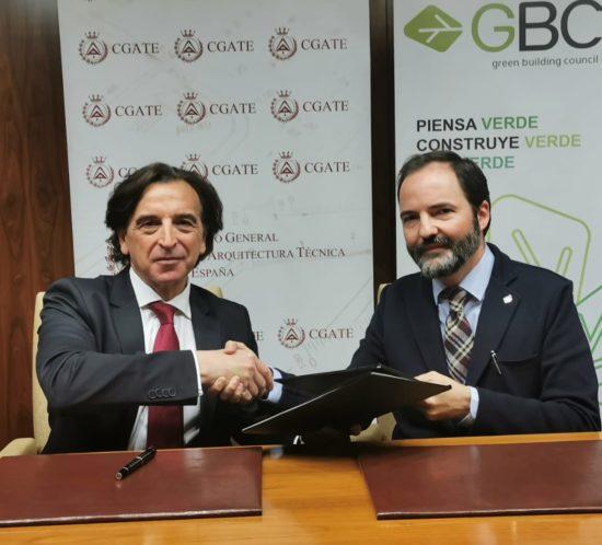Alfredo Sanz (CGATE) y Justo Orgaz (GBCe)