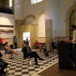 Bruno Sauer en inauguración Puerta de Alicante