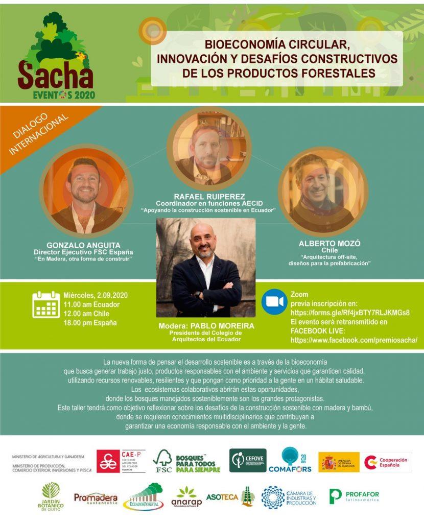 Bioeconomía circular, innovación y desafíos constructivos de los productos forestales