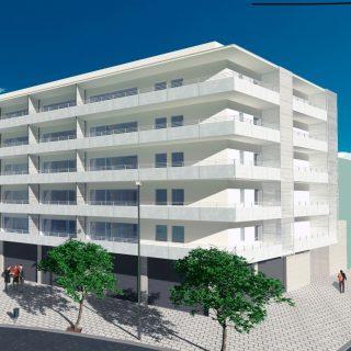 Edificio en manzana con zona verde en Sant Boi con Ronda Sant Ramón, Sant Boi de Llobregat