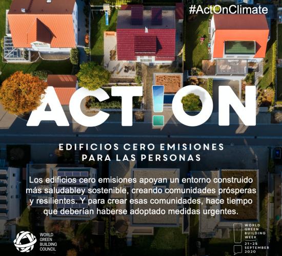 Edificios cero emisiones para las personas, el planeta y la prosperidad económica