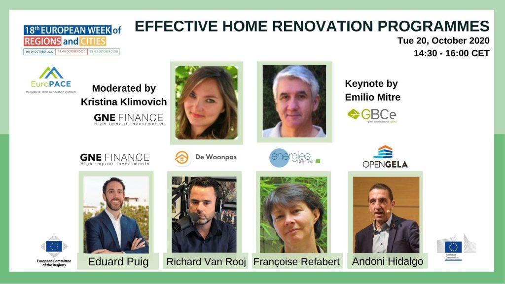 Effective home renovation programmes
