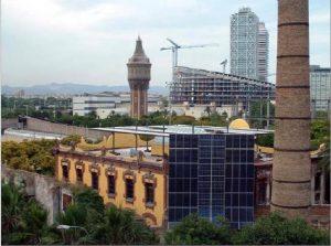 La Fábrica del Sol, Barcelona, edificio certificado con la herramienta RH (rehabilitación) Equipamientos.