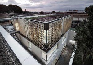 Oak House School, Barcelona, edificio certificado con la versión NE (nueva obra) Equipamientos.